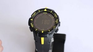 Casio PRG-300-1A9CR Pro Trek Triple Sensor Digital Tough Solar