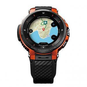 reloj-Casio Pro Trek WSD-F30-naranja