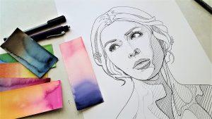 Dibujo con lapiz