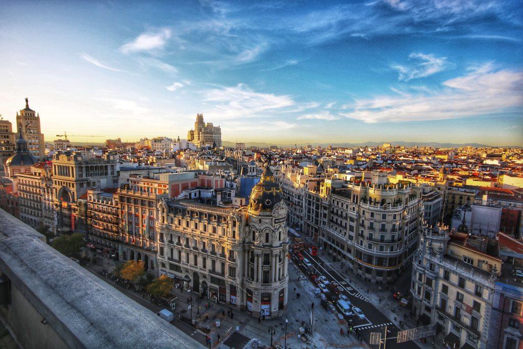 trabajador desde casa en España