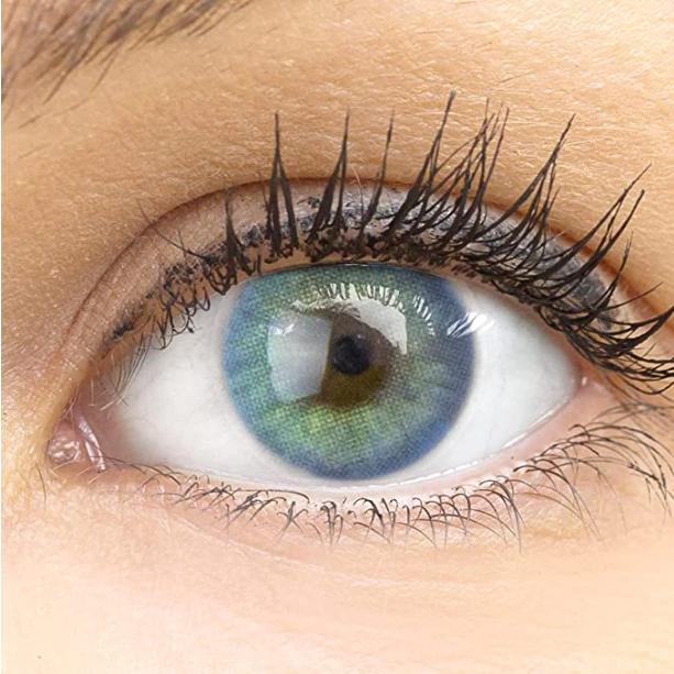 GLAMLENS lentillas de color azul