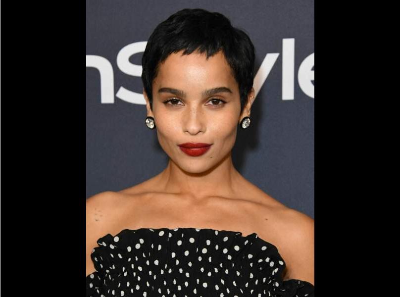 Un corte de pelo que resalta los finos rasgos de la actriz.