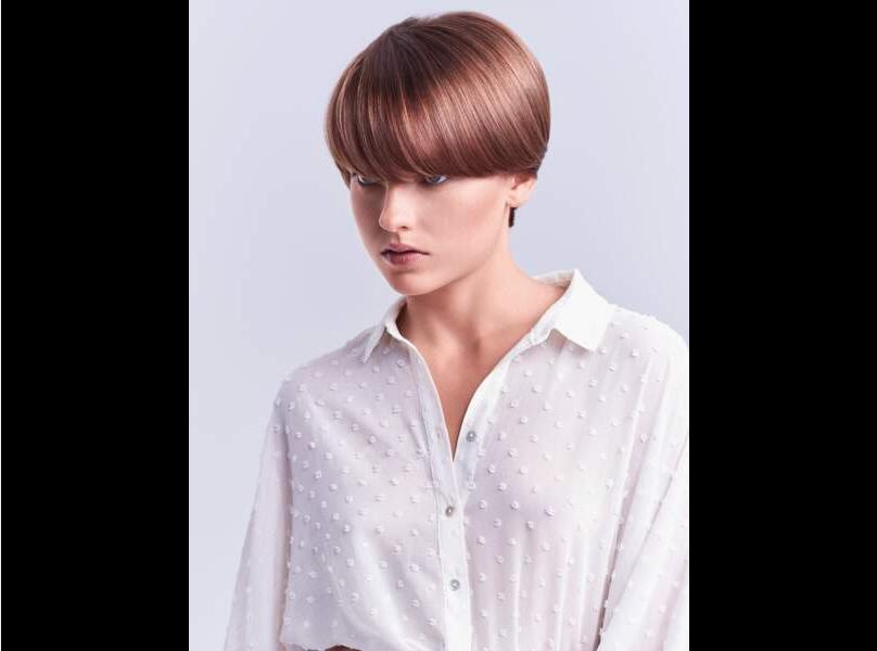 Un peinado que recomendamos para rostros largos y delgados.